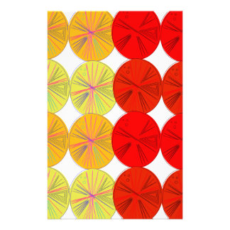 Design slices wild exotic stationery