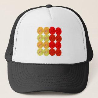 Design slices wild exotic trucker hat