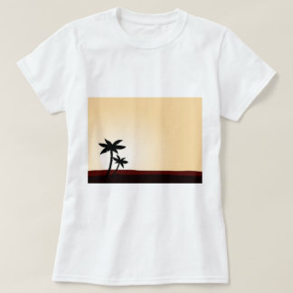 DESIGN t-shirt with Palms