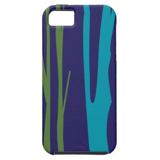 DESIGN Trees blue elements iPhone 5 Cover
