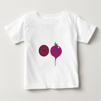 Design vegies pink on white baby T-Shirt