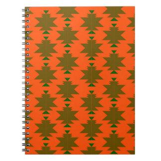 Design wild aztecs eco notebook