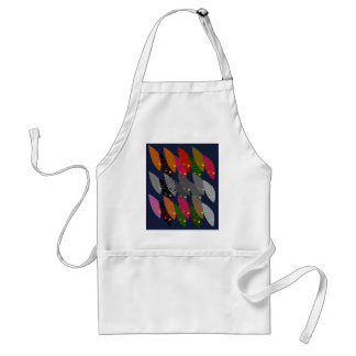 Design wild exotic Leaves Standard Apron