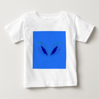Design wings blue ethno baby T-Shirt