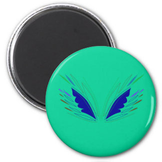 Design wings eco Green Magnet
