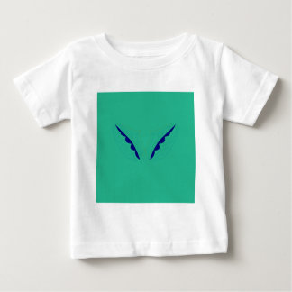 Design wings green eco baby T-Shirt