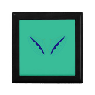 Design wings green eco gift box