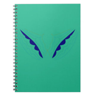 Design wings green eco notebook