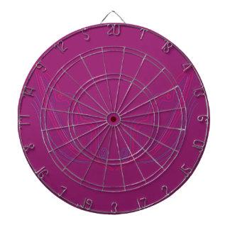 Design wings pink dartboard