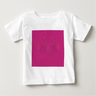 Design wings pink ethno baby T-Shirt