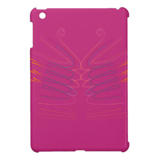 Design wings pink ethno iPad mini cover