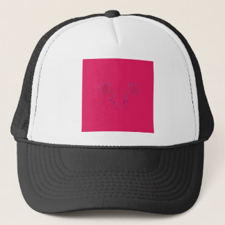 Design wings red Eco Trucker Hat