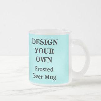 Design Your Own Beer Mug - Light Blue