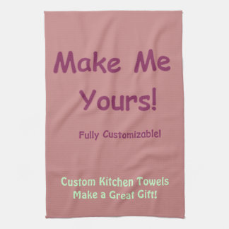 Design Your Own Custom Towels