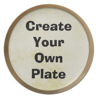 Design Your Own Dish Dinner Plate