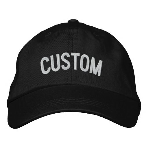 2828e6c5 Design Your Own Embroidered Hat | Zazzle.ca