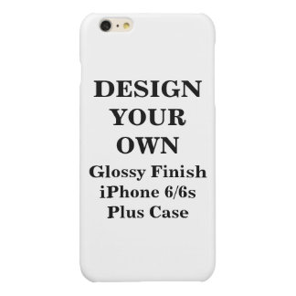Design Your Own iPhone 6/6s Glossy Finish Plus