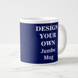 Design Your Own Jumbo Mug - Blue