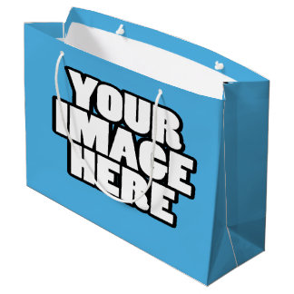 Design Your Own Personalized Custom Made Large Gift Bag