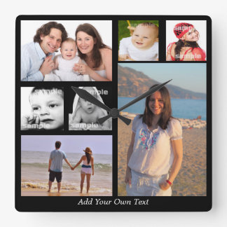 Design Your Own Personalized One Of A Kind Wall Clock