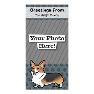 Design Your Own Pet Photo Greeting Card