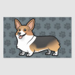 Design Your Own Pet Rectangle Sticker