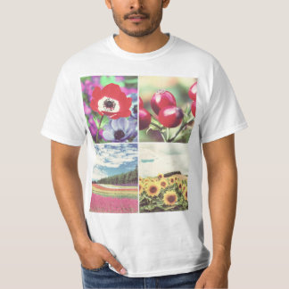 Design your own photo x4 T-Shirt