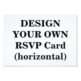 Design Your Own RSVP Card (horizontal)