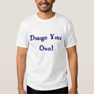 Design Your Own Silver Tshirt