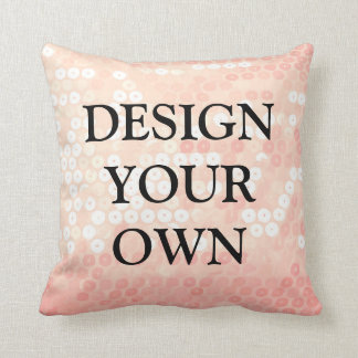 Design your own unique and chic couch decor throw pillow