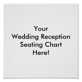 Design Your Wedding Reception Seating Chart