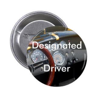 Designated Driver 2 Inch Round Button