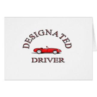 Designated Driver Card