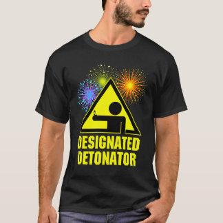 Designated Fireworks Detonator T-Shirt
