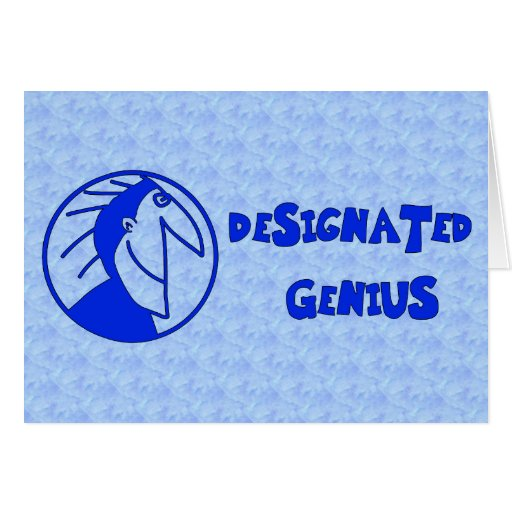 Designated Genius Card