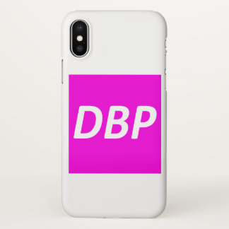 Designed By Princess brand iPhone X case