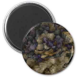 Designed Explosion #10 2 Inch Round Magnet