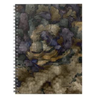 Designed Explosion #10 Spiral Note Books