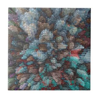 Designed Explosion #2 Tile