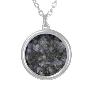Designed Explosion #4 Silver Plated Necklace