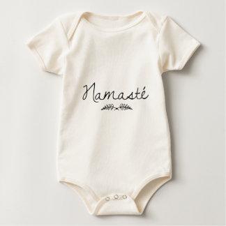 Designed Namaste Yoga Baby Bodysuit