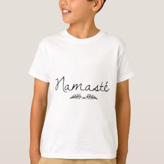Designed Namaste Yoga T-Shirt