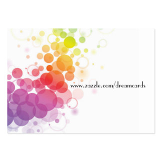 Designer Abstract Profile Cards Large Business Card