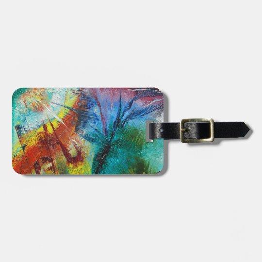 Designer baggage tag by Viktor Tilson