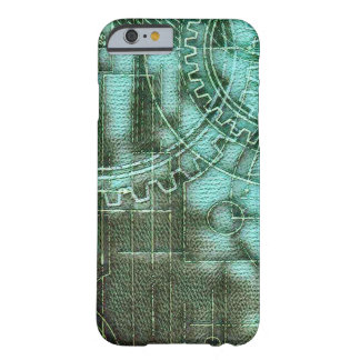 Designer Blueprint Cogs Barely There iPhone 6 Case