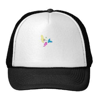 Designer Camo Print Mesh Hat