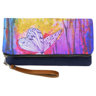 Designer clutch butterfly design by Zayha
