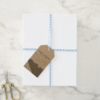 Designer Design Geometric Polygonal  Professional Gift Tags