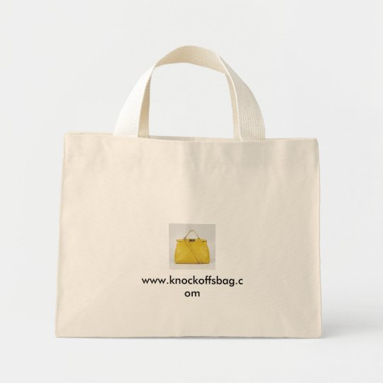 Designer Fendi yellow Lambskin Peekaboo Satchel... Mini Tote Bag