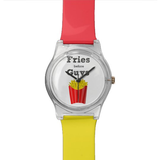 Designer Fries Before Guys Switchable Band Watch